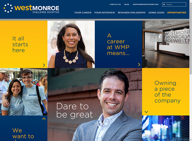West Monroe Partners Careers Site