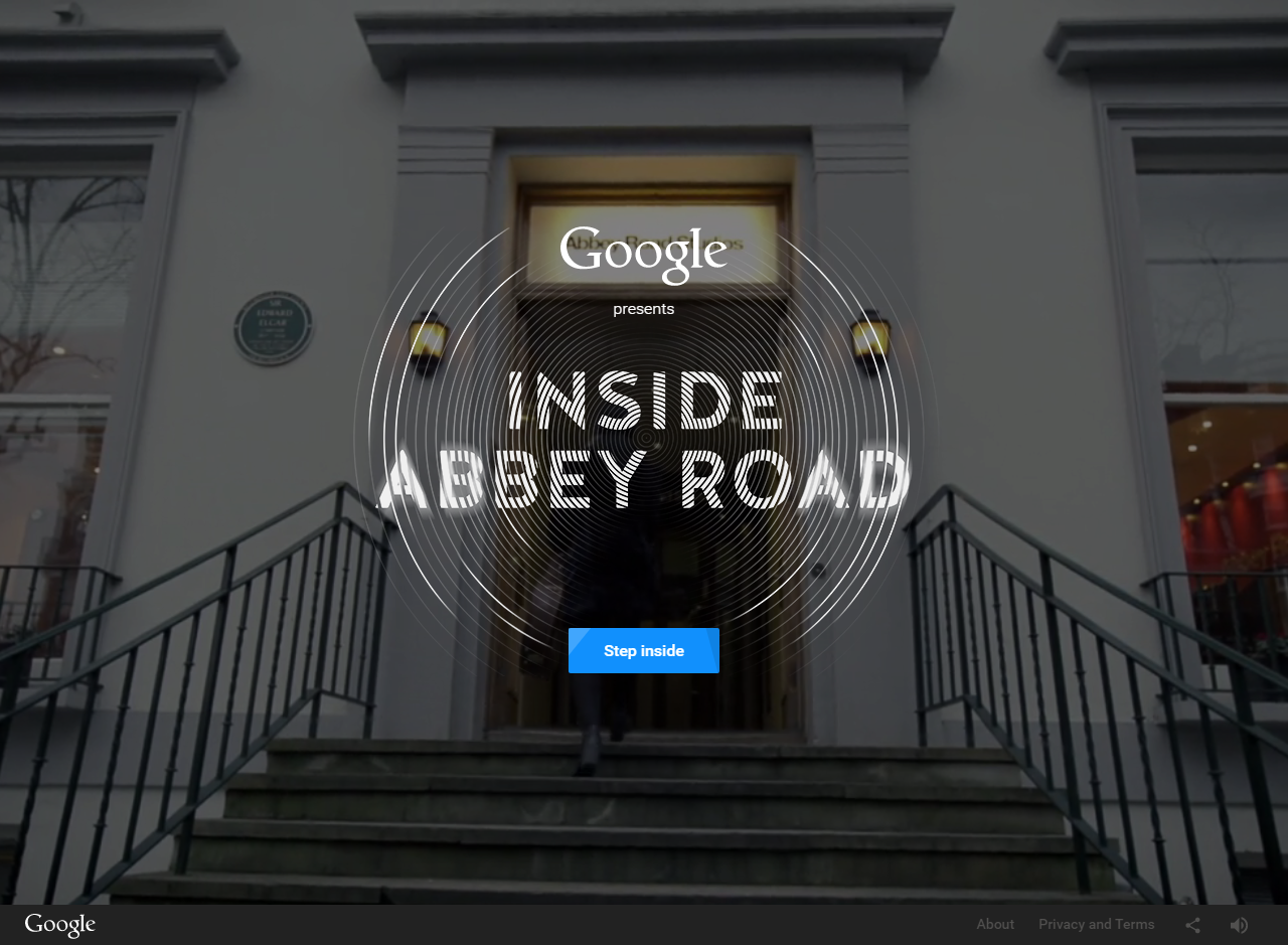 Inside Abbey Road