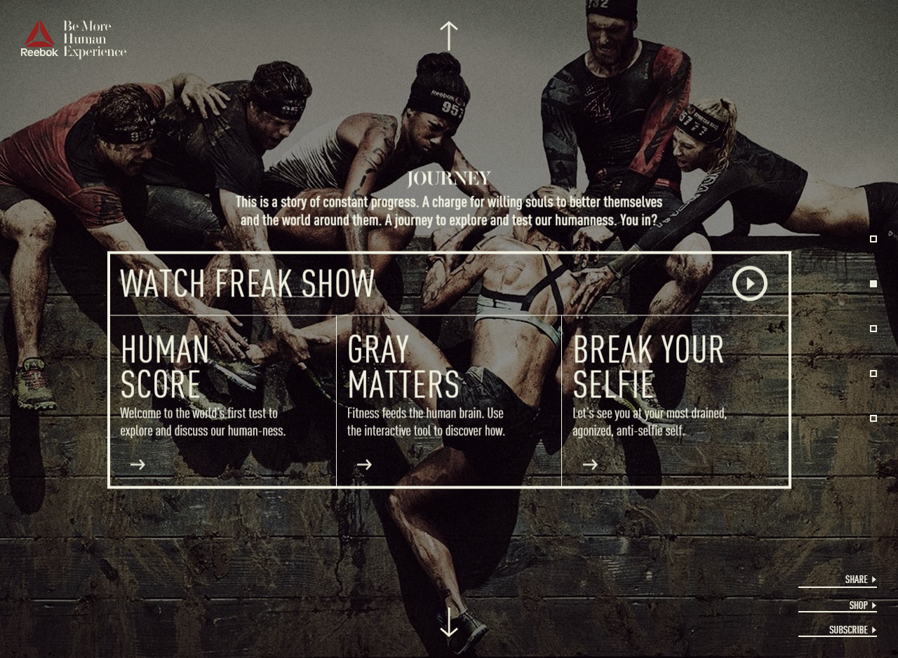 Reebok: Be More Human