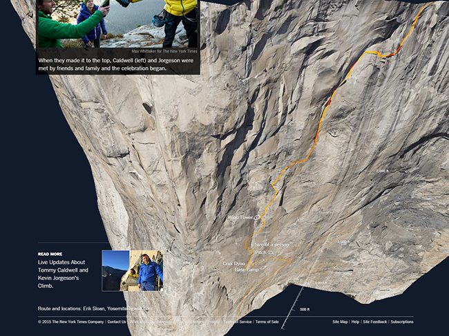 The Dawn Wall - NY Times