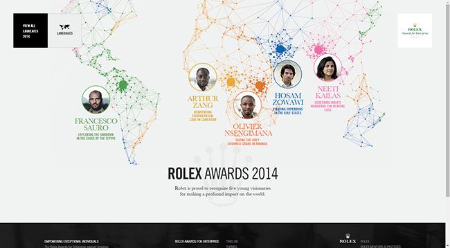 Rolex Awards 2014