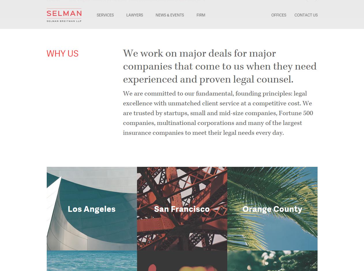 Selman Breitman Launch