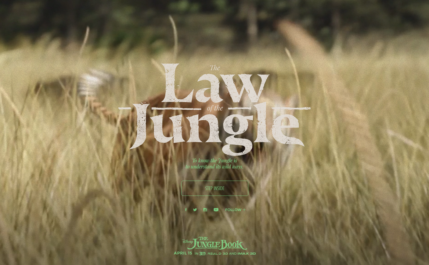 The Law of the Jungle site