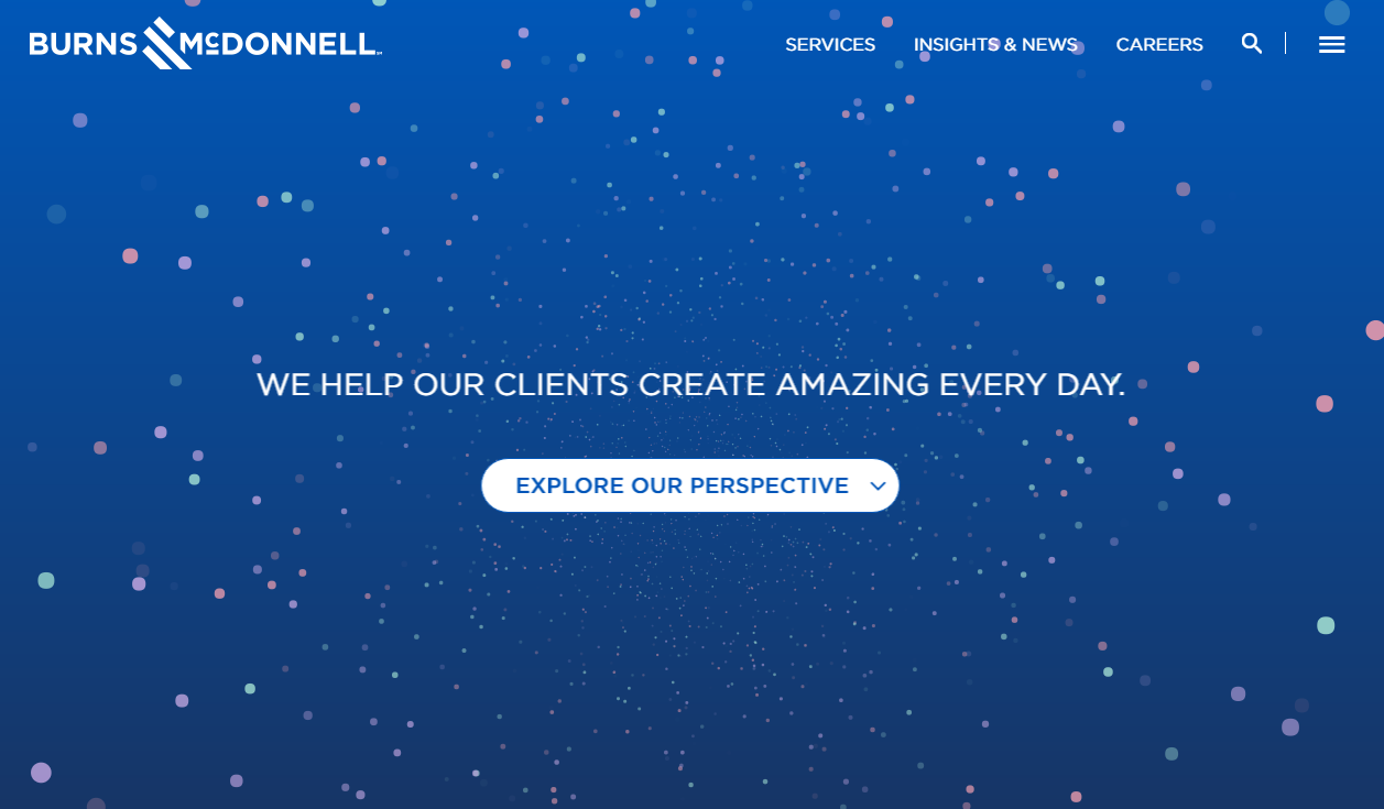 Burns & McDonnell Website Redesign