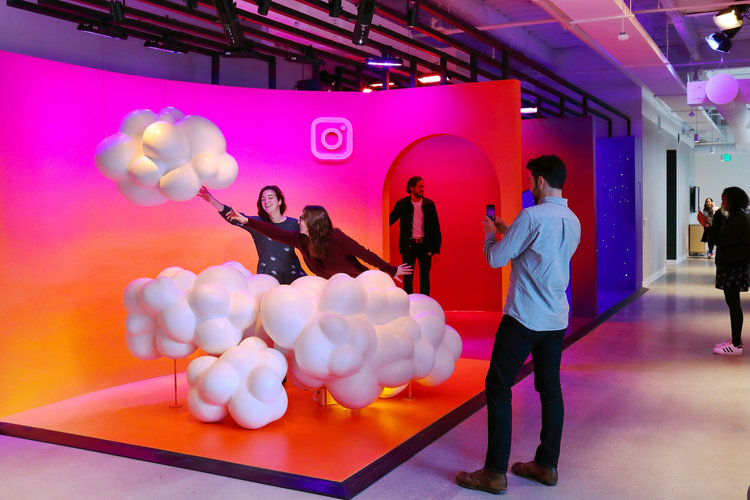 Instagram's office space is a reflection of the digitally-native brand