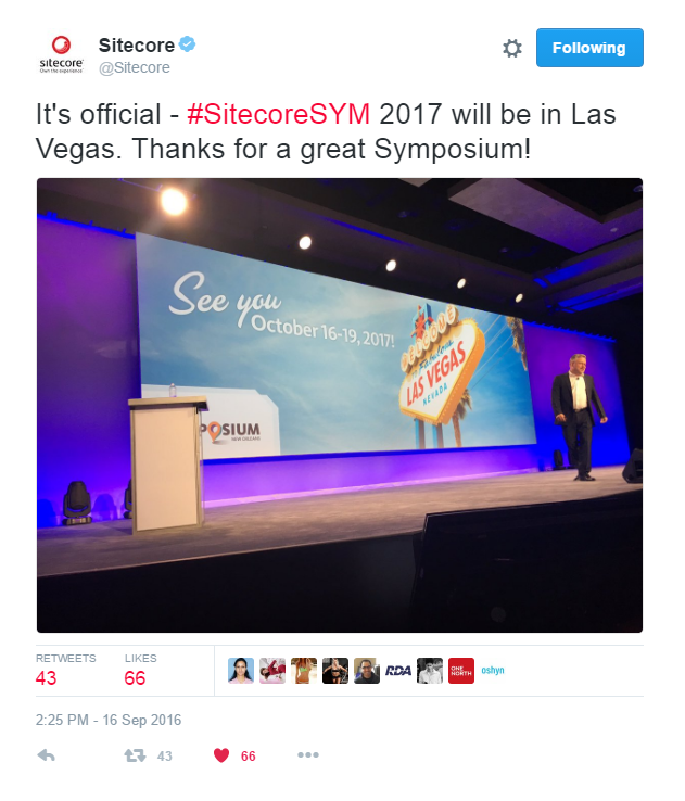 Sitecore Symposium 2016: 4 Key Takeaways